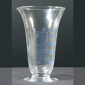 Bekerglas klokvormig