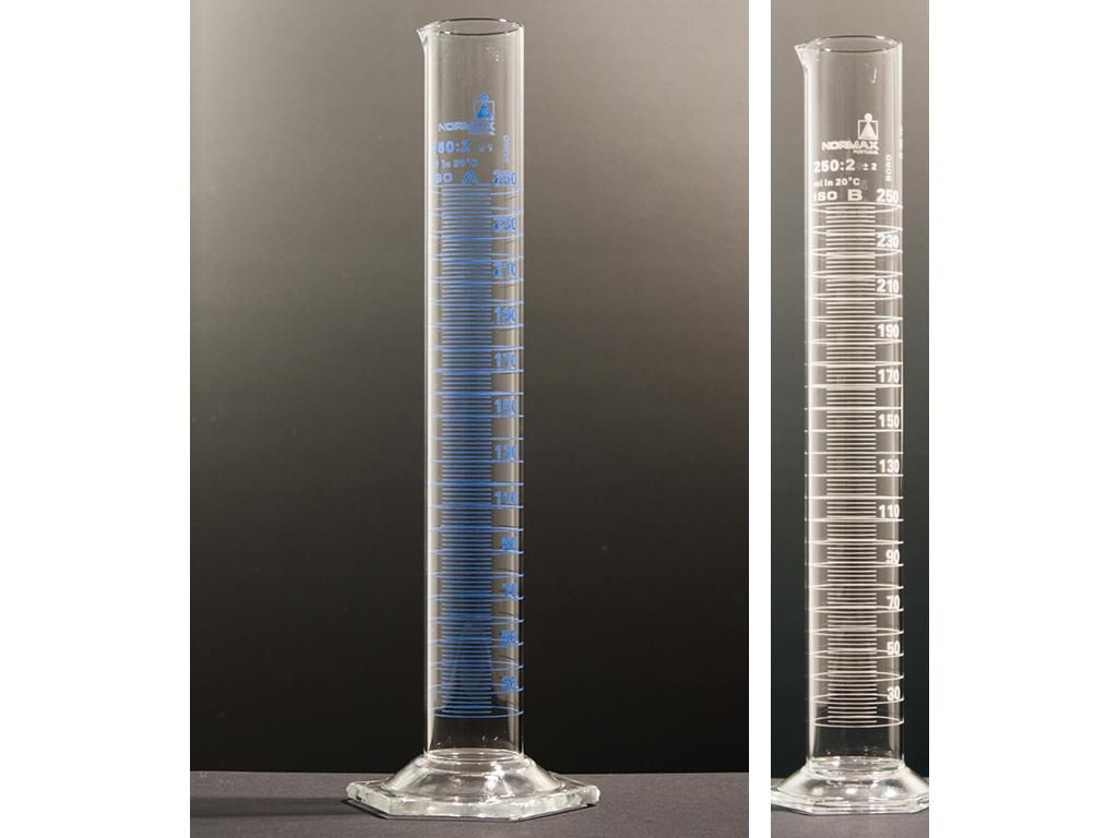 Maatcilinder glas, hoog model, 1000ml