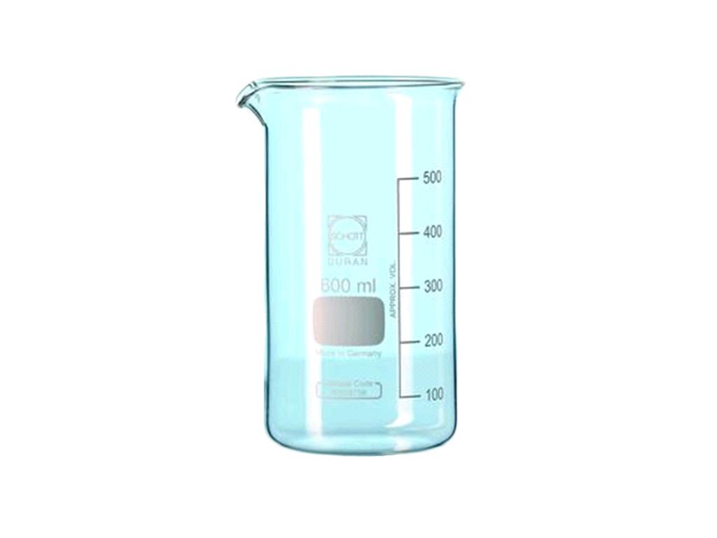 Bekerglas 100 ml, hoog model, Schott