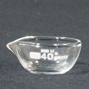 In-uitdampschaal borosilicaatglas