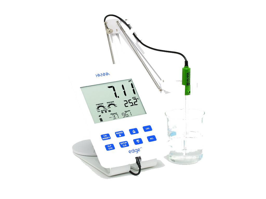HI2002-02 edge benchtop pH-meter