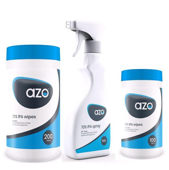 Azo Wipe desinfectie