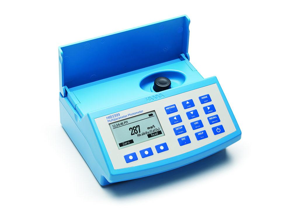 Multiparameter fotometer voor afvalwater