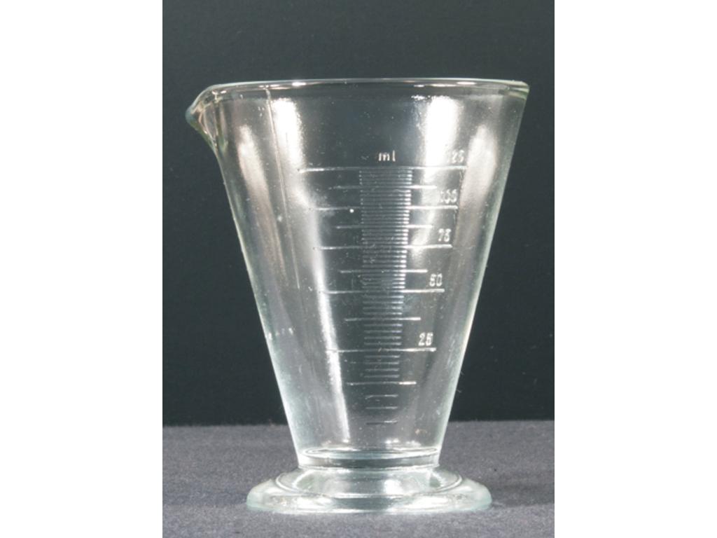 Bekerglas conisch, AR-glas + verd 100ml