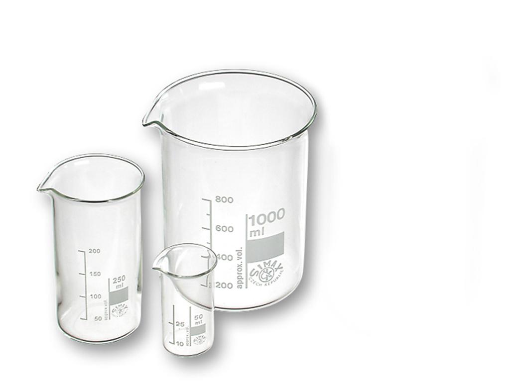 Bekerglas 2000ml hoog Borosillicaatglas