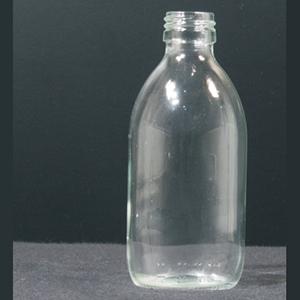 Fles met schroef helder PP 28