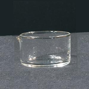 Kristalliseerschaal + tuit AR-glas