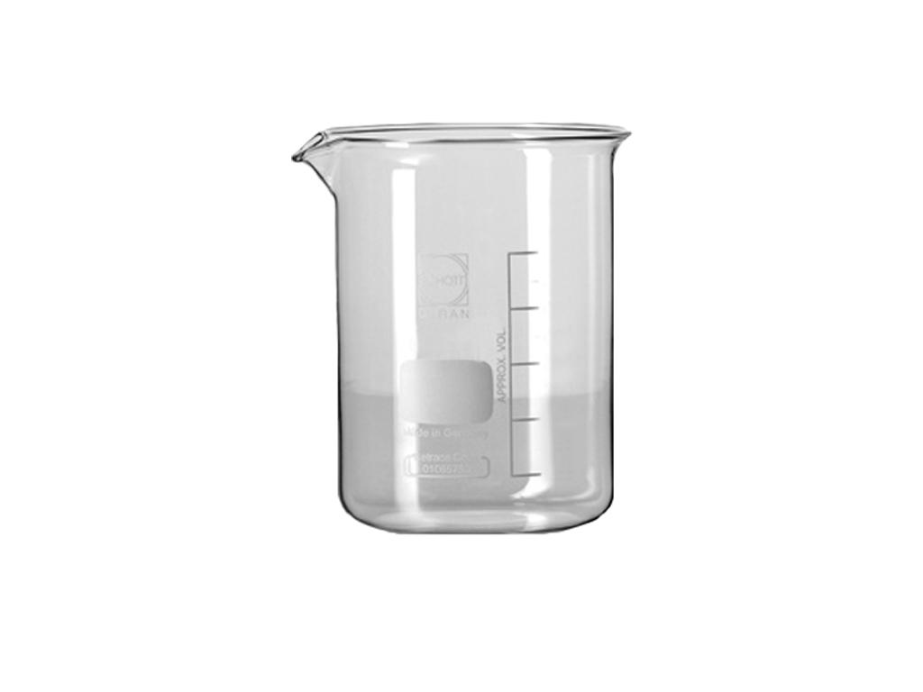 Bekerglas 600 ml, laag model, Schott