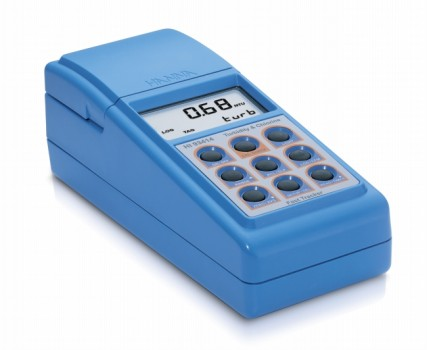 Draagbare troebelheidmeter volgens USEPA