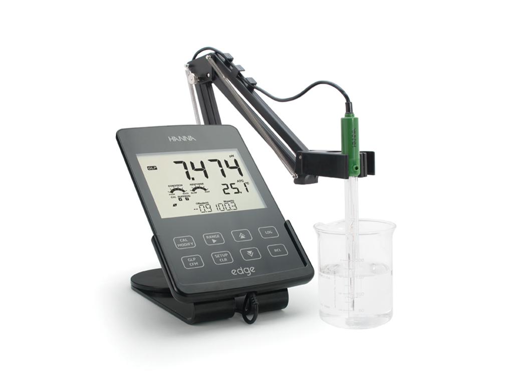 HI2020-02 edge benchtop pH-meter
