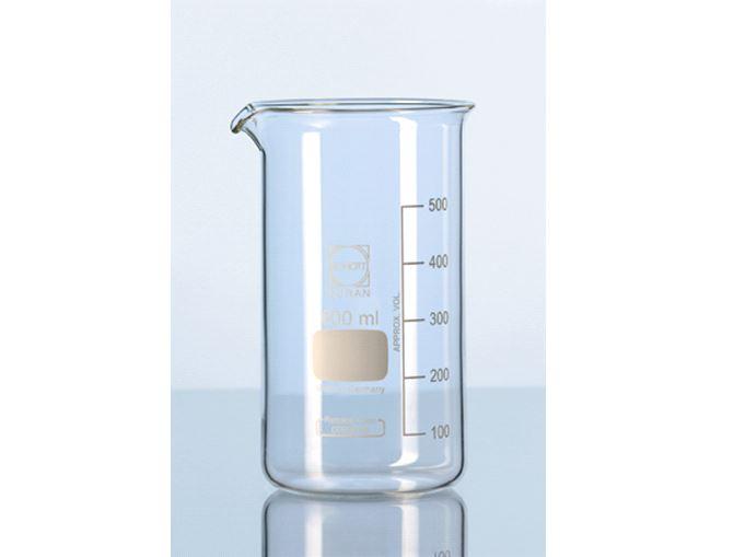 Bekerglas 2000 ml, hoog model, Schott
