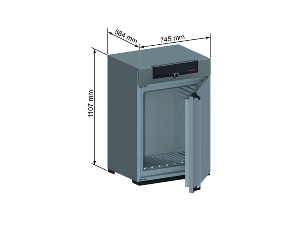 Memmert paraffine oven UN160pa