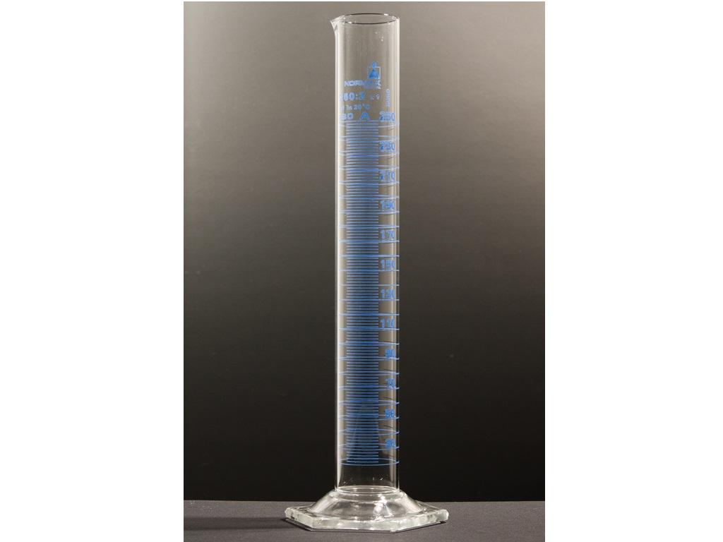 Maatcilinder, hoog model, 5 ml-0,1ml