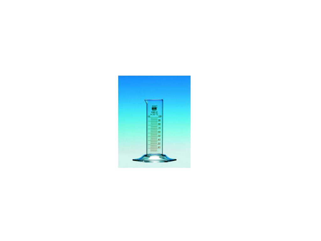 Maatcilinder glas, laag model, 2000 ml